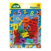 Lena 65745 - Magnetic Capital Letters Pack of 36, 3 cm