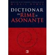 DICTIONAR DE RIME SI ASONANTE.
