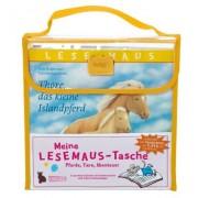 Meine Lesemaus-Tasche - Pferde, Tiere, Abenteuer, 4 Bde. in Tasche