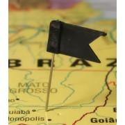 Markeervlaggetjes voor wandkaart Zwart | Alco