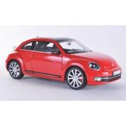 VW Beetle, rojo, 2012, Modelo de Auto, modello completo, Welly 1:18