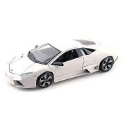 Lamborghini Reventon, White Bburago 11029 1/18 Scale Diecast Model Toy Car