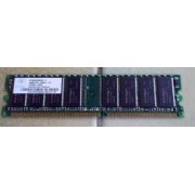 HP Nanya Barette Mémoire - 256 MB - Nombre de broches inconnu - DDR - 400 MHz / PC3200U - 30330 - (NT256D64S88CDG-5T)