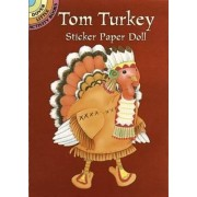 Tom Turkey Sticker Paper Doll by Cathy Beylon