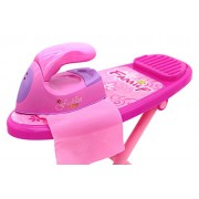 Little Treasures Mini Ironing Toy Set Includes Iron and Ironing Board 3 Years and Up