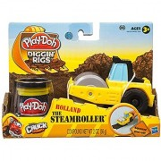 Play-Doh Tool Crew Rolland The Steam Roller