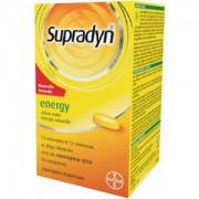 Supradyn energy Q10 comprimate filmate 30cpr