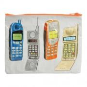 Borsetta con design Telefoni cellulari di tutti i tempi GRANDE - 95% riciclata