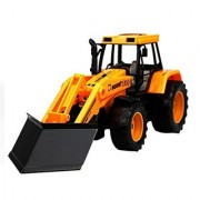Happy Cherry Construction Vehicles Diecast Forklift Loader Tractor Excavator Toys for Kids