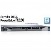 Servidor Dell Poweredge R220 E3-1231v3 8gb 2tb R2201e30821t1