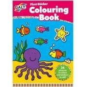 Early Activities Prima carte de colorat cu abtibilduri