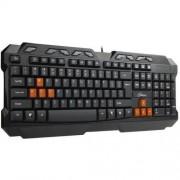 Tastatura multimedia Genesis R33 USB Black
