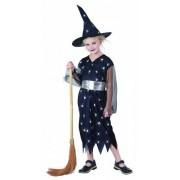 Vegaoo Halloween Hexen-Kostüm für Mädchen