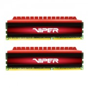 Memorie Patriot Viper 4 Red 8GB (2x4GB) DDR4 2400MHz 1.2V CL15 Dual Channel Kit, PV48G240C5K