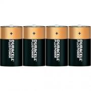 Duracell Baterie alkaiczne Duracell Plus D, 4 szt.