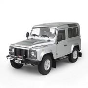 Kyosho - Modellino Land Rover Defender 90, scala: 1:18, colore: Argento