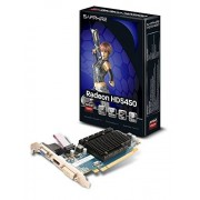 Sapphire RADEON HD 5450 Carte graphique Radeon HD 5450 PCI Express 2.0 x16 faible encombrement 1 Go DDR3 DVI, HDMI