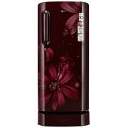 LG 190 L 3 Star Direct-Cool Single Door Refrigerator (GL-D201ASAW.ASAZEBN, Scarlet Aster)