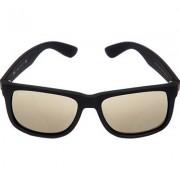 Ray Ban Herren Brillen Sonnbrille Justin Kunststoff schwarz-gold