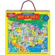 T.S. Shure Map of the USA Magnetic Puzzle