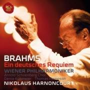 Nikolaus Harnoncourt - Brahms: Ein Deutsches Requiem, Op. 45 (0886977206627) (1 CD)