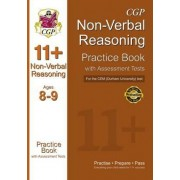11+ Non-verbal Reasoning Practice Book with Assessment Tests (Age 8-9) for the CEM Test by CGP Books