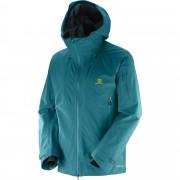 Geaca ski Salomon Qst Charge Gore-Tex 3L-Bleu