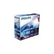 Philips BD-RE, 25GB / 135min, single layer, 2x (BE2S2J05C/00)
