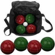 Trademark Games 9 Piece Bocce Ball Game Set with Nylon Bag 80-10602