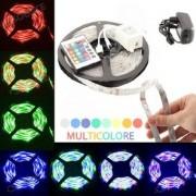 Striscia led - 5 metri - 72w multicolor RGB 300 led mensole,controsoffittatura,