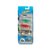 Set De 5 Vehicule Hot Wheels : Snow Stormers - Mattel Re:Djd21
