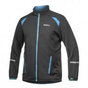 Craft Performance Run Weather Long Sleeved Jacket Black/Blue/White 1901330