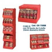 > CUBO B con 50 buste da 4 STELLE 14mm