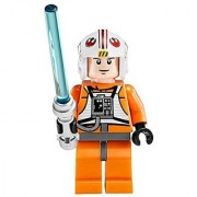 LEGO Star Wars X-Wing Starfighter Minifigure - Luke Skywalker X-Wing Pilot with Lightsaber (9493)