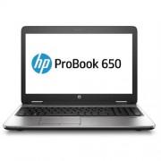 HP ProBook 650 G2, i5-6200U, 15.6 HD, 4GB, 500GB, DVDRW, ac, BT, FpR, backlit keyb, LL batt, W10Pro-W7Pro
