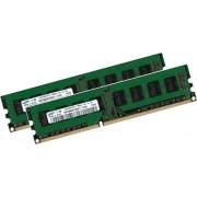 Original Samsung a doppio canale per DDR3 + i3 + i5 + i7 schede madri 8 GB (2 x 4 GB)/240 pin/DDR3-1333 (1333 mhz/PC3-10600/CL9)/NON-ECC/senza buffer (2 x m378b5273bh1 - CH9)