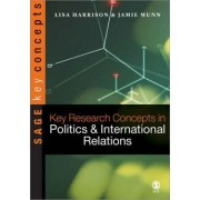 Key Research Concepts in Politics and International Relations by Lisa Harrison