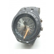 Spy Henry Lau Flash Light Fashion Plastic Wrist Watches Grey SP788AC58OWVHK