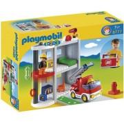 Playmobil 123 Brandweerkazerne - 6777
