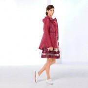Hunter Original Damen-Regenparka, 36/38 - Pink