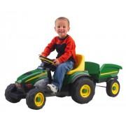 Peg Perego John Deere Farm Tractor & Trailer by Peg Perego