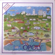 L.A.OPOLY Deluxe Edition Board Game by City'opoly