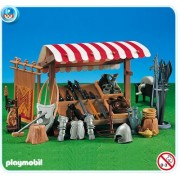 Playmobil Knight Stand Market