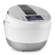 Klarstein Hotpot, 950W, бяла, многофункционална тенджера, мулти котлон, 23 в 1, 5 литра, сензорен