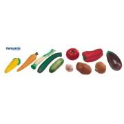 Miniland - Cesto di verdure, 11 pezzi (30766)