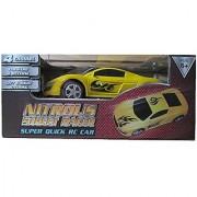 Yellow Nitrous Street Racer Super Quick RC Car