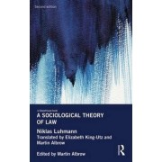 A Sociological Theory of Law by Niklas Luhmann