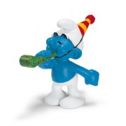 Schleich The Smurfs Mini Figure Party Smurf
