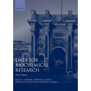 Data for Biochemical Research by Rex M. C. Dawson