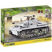 Small Army /2461/ WW II German medium tank Panzer IV ausf H 440 building bricks by Cobi